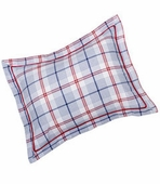 Windowpane Plaid Standard Sham
