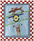 Wing Walker Gallery Wrapped Stretched Giclee Canvas