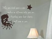 Wish Upon a Star Custom Wall Decal