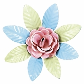 XL Flower Magnet - Light Pink