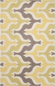 Yellow Puzzle Aimee Wilder Hand-Tufted Rug