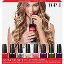 OPI Coca-Cola Collection OPI 10 Pack of Style Minis