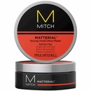 Paul Mitchell Mitch Matterial Strong Hold/Ultra-Matte Styling Clay - 3 oz