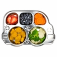 DinDin Smart Stainless Divided Platter / Bus