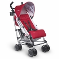 G-LUXE Stroller - Denny (Red/Silver)