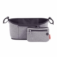 Grab & Go Stroller Organizer - Heather Grey