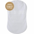 HALO BassiNest: Fitted Sheet-Organic (White)