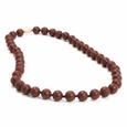 Jane Necklace Chocolate Brown