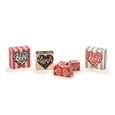 LOVE Heart Blocks - Red