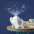 Moonlight & Melodies Nightlight Soother - Elephant