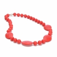 Perry Necklace - CHerry Red