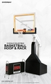 1:9 Scale NBA Basketball Hoop and Rack by Enterbay