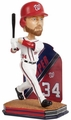 2016 Forever Collectible MLB Name and Number Bobble Heads