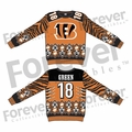 A.J. Green (Cincinnati Bengals) NFL Ugly Player Sweater