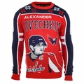 Alexander Ovechkin #8 (Washington Capitals) NHL 2015 Player Ugly Sweater