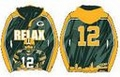 Aaron Rodgers #12 (Green Bay Packers) NFL 2015 Player Poly Hoody