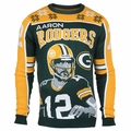 Aaron Rodgers #12 (Green Bay Packers) NFL Player Ugly Sweater