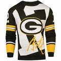 Aaron Rodgers #12 (Green Bay Packers) NFL 2016 Loud Player Sweater By Forever Collectibles
