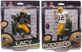 Aaron Rodgers/Eddie Lacy (Green Bay Packers) NFL 34 Combo McFarlane