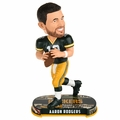 Aaron Rodgers (Green Bay Packers) 2017 NFL Headline Bobble Head by Forever Collectibles