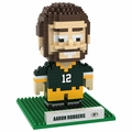 Aaron Rodgers (Green Bay Packers) NFL 3D Player BRXLZ Puzzle By Forever Collectibles