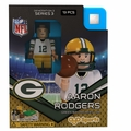 Aaron Rodgers (Green Bay Packers) NFL OYO Sportstoys Minifigures G3LE