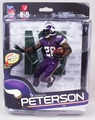 Adrian Peterson (Denver Broncos) NFL 34 McFarlane Collector Level Gold CHASE #/500