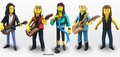 "Aerosmith (Set of 5) (The Simpsons 25th Anniversary) 5"" Action Figure Series 4 NECA"