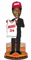 Akeem Olajuwon (Houston Rockets) #1 NBA Draft Pick Bobble Head #/500