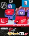Al the Octopus Mascot (Detroit Red Wings): Gen1 NHL OYO Minifigure