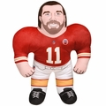 "Alex Smith (Kansas City Chiefs) 24"" NFL Plush Studds by Forever Collectibles"