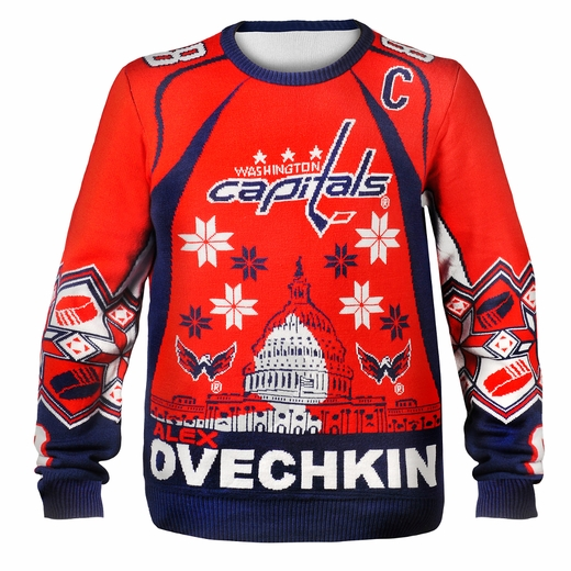 Alexander Ovechkin (Washington Capitals) NHL Ugly Player Sweater