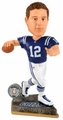 Andrew Luck (Indianapolis Colts) 2015 Springy Logo Action Bobble Head Forever Collectibles
