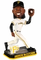 Andrew McCutchen (Pittsburgh Pirates) Forever Collectibles 2014 MLB Springy Logo Base Bobblehead
