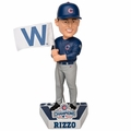 Anthony Rizzo (Chicago Cubs) 2016 World Series Champions Fly the W Flag Bobble Head