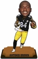 "Antonio Brown (Pittsburgh Steelers) 2015 NFL Real Jersey 10"" Bobble Heads Forever Collectibles"