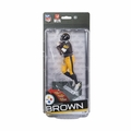 Antonio Brown (Pittsburgh Steelers) NFL 37 McFarlane Collector Level Gold CHASE #/500