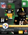 Antonio Brown (Pittsburgh Steelers) NFL OYO G2 Sportstoys Minifigures