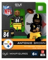 Antonio Brown (Pittsburgh Steelers) NFL OYO Sportstoys Minifigures