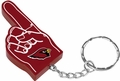 Arizona Cardinals #1 Foam Finger Keychain