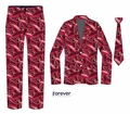 Arizona Cardinals NFL Repeat Logo Ugly Business Suit by Forever Collectibles