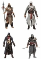 Assassin's Creed Series 3 Set of 4 (Ezio Auditore Da Firenze, Altair Ibn-La'Ahad, Ah Tabai, TBD) McFarlane