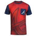 Atlanta Braves MLB Cotton/Poly Pocket Tee
