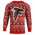 Atlanta Falcons 2016 Aztec NFL Ugly Crew Neck Sweater by Forever Collectibles