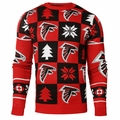 Atlanta Falcons 2016 Patches NFL Ugly Crew Neck Sweater by Forever Collectibles