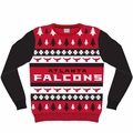 Atlanta Falcons NFL Ugly Sweater Wordmark