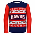 Atlanta Hawks NBA Ugly Sweater Wordmark