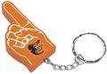 Baltimore Orioles #1 Foam Finger Keychain
