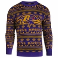 Baltimore Ravens 2016 Aztec NFL Ugly Crew Neck Sweater by Forever Collectibles