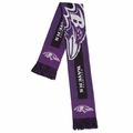 Baltimore Ravens 2016 NFL Big Logo Scarf By Forever Collectibles